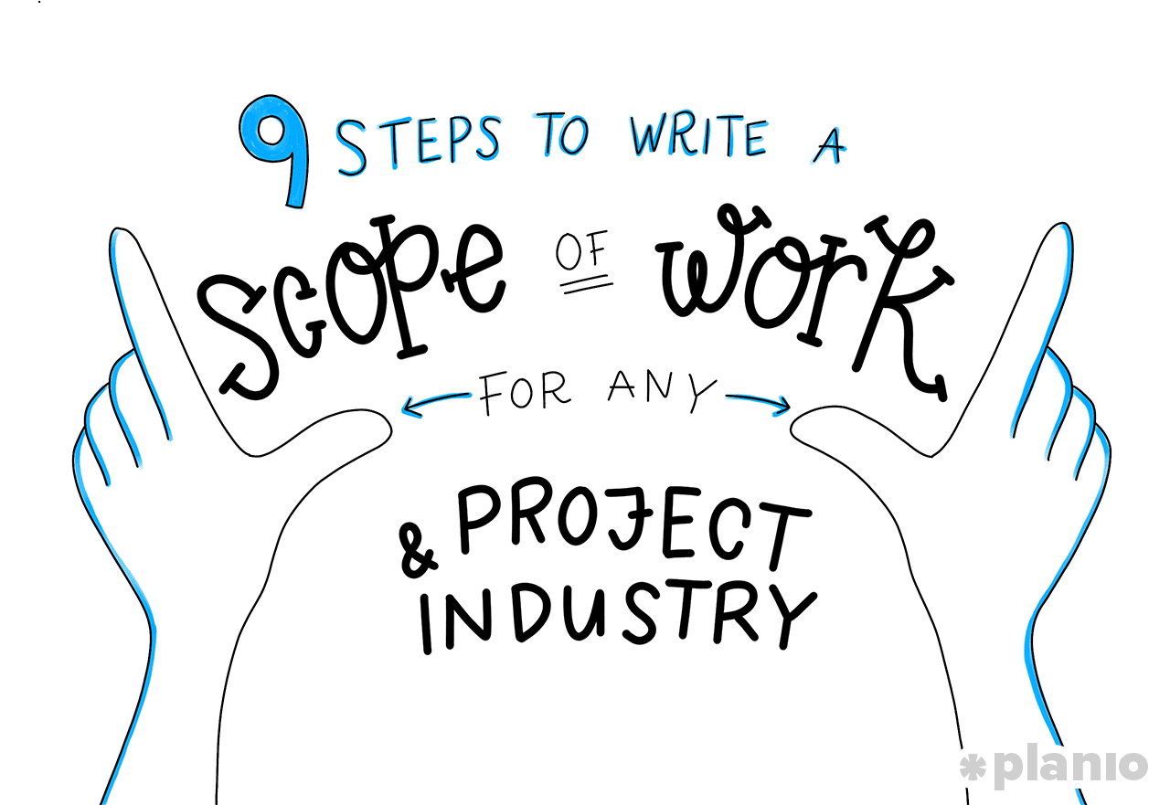 9 steps to write a scope of work sow for any project and industry