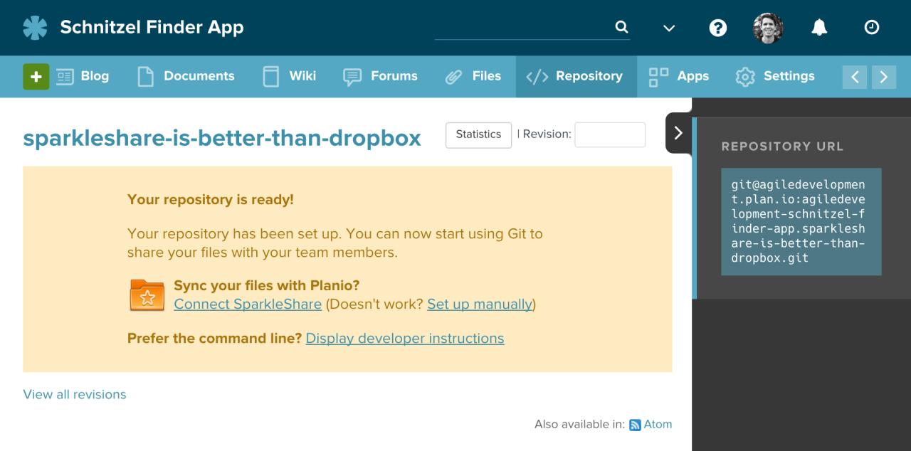 A Data-Safe Dropbox Alternative: Git + SparkleShare | Planio