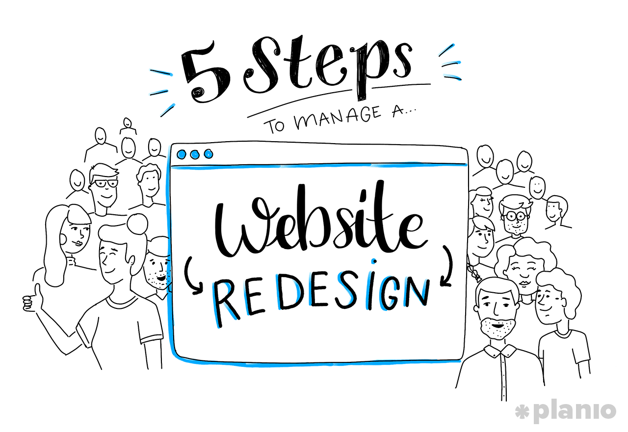 5 Steps to Manage a Website Redesign Without Losing Traffic