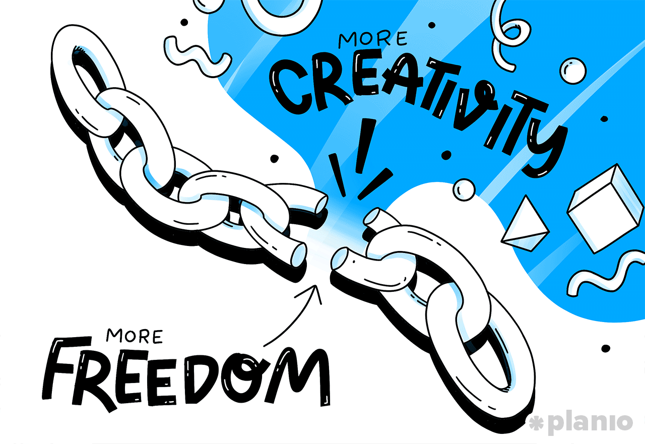 Freedom Improves Creativity