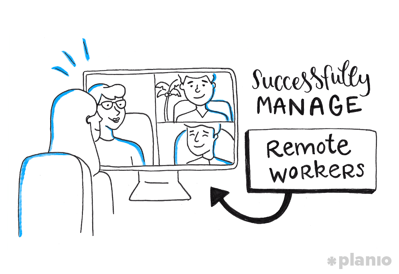 How to Manage a Remote Team and Stay Productive (From the