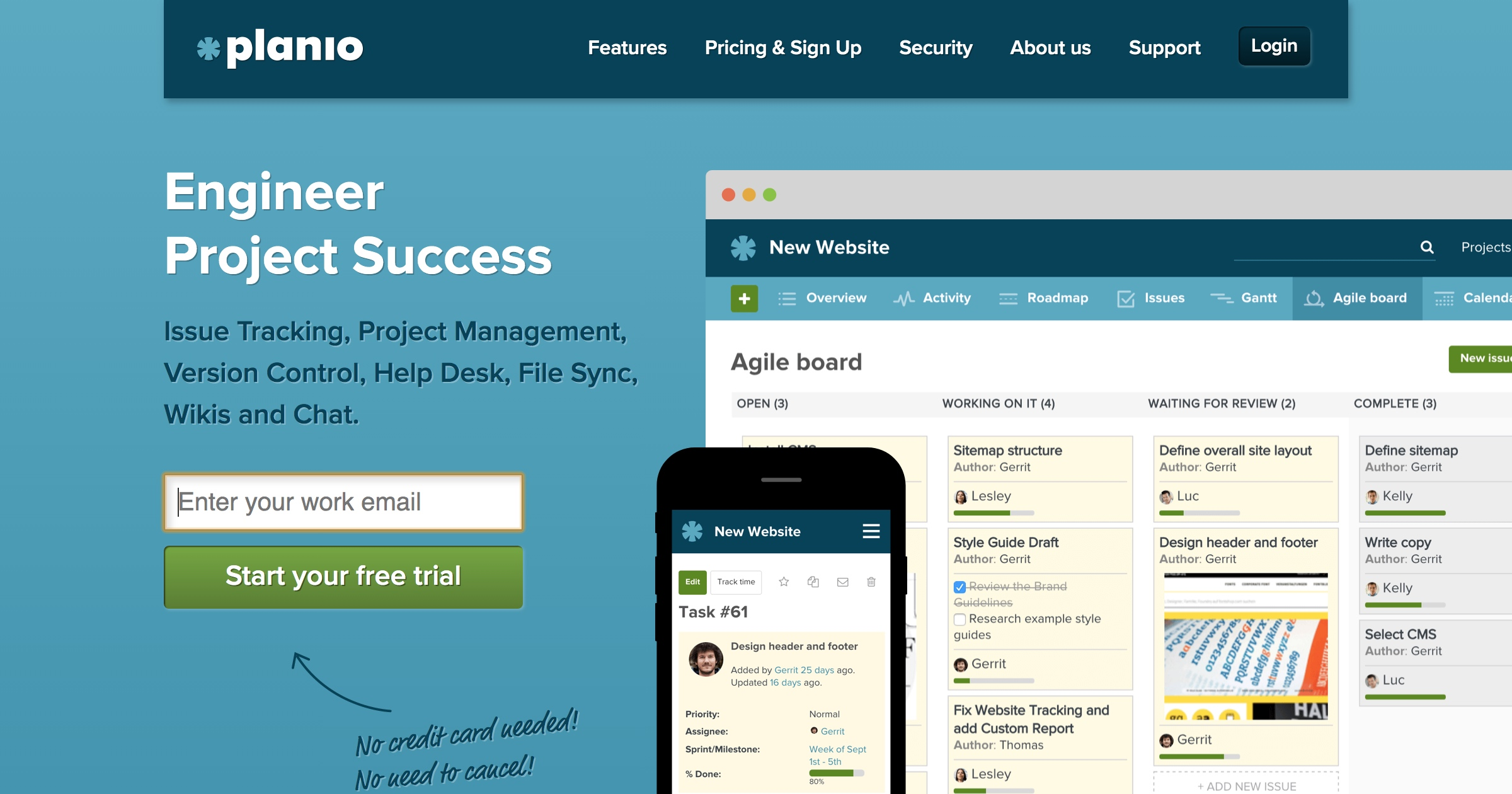 Online Project Management and Redmine Hosting | Planio